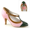 PEACH-03 Baby Pink Faux Leather